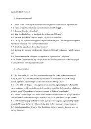 Rep.spørsmål og arb.oppgåver - Fagbokforlaget