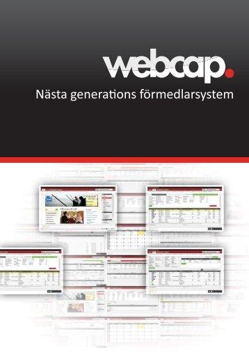 Webcap - Nästa generations förmedlarsystem
