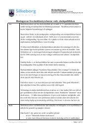 Høringssvar fra skolebestyrelserne (pdf) - Dagsordener og ...