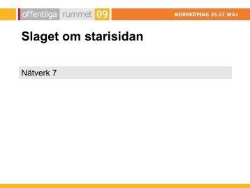 SLAGET OM STARTSIDAN - ibt-sv17.internetborder.se