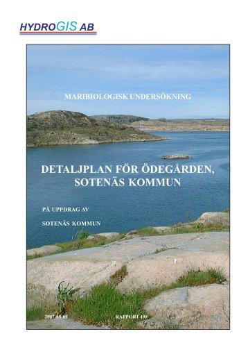Marinbiologisk undersökning.pdf - Sotenäs kommun