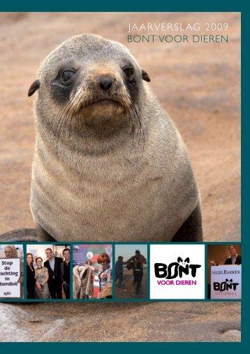 Jaarverslag 2009 Bont voor dieren
