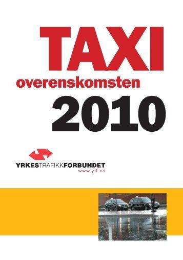 Taxioverenskomsten 2010-2012 - Yrkestrafikkforbundet