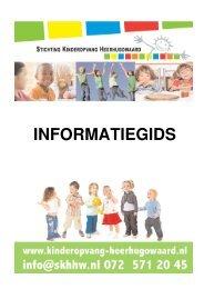 Algemene informatiegids - Stichting Kinderopvang Heerhugowaard