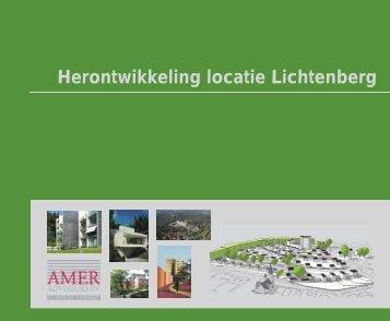 Boekje herontwikkeling locatie Lichtenberg - Amer