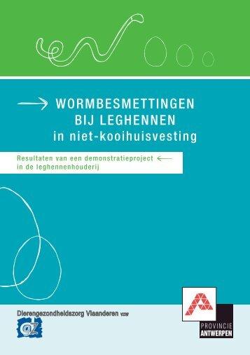 Brochure wormbesmettingen bij leghennen in niet ... - DGZ