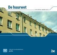 De huurwet - Federale Overheidsdienst Justitie - Belgium
