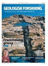Framtidens gruva - Sveriges geologiska undersökning