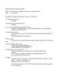 Referat af bestyrelses møde den 22-06-09 Deltager ... - Ubberud IF