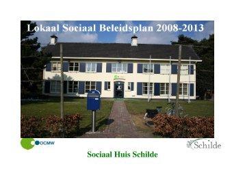 Schilde - lokaal sociaal beleidsplan 2008-2014 - Vlaanderen.be