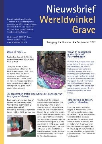 September - Wereldwinkel Grave