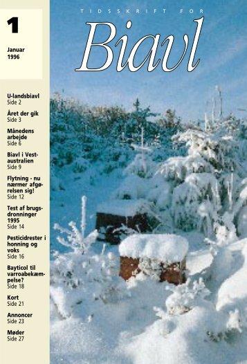 Tidskrift for Biavl 1996