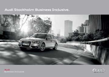 Audi Stockholm Business Inclusive.