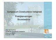 Symposium Constructieve Veiligheid Praktijkervaringen Bouwtoezicht