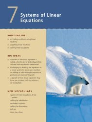 Systems of Linear Equations - BigEngine
