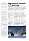 utges av Folkrörelsen Nej till EU | nr 104 | juli 2007 | pris 20 kr - Page 5