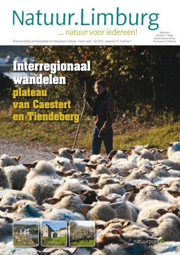 Interregionaal wandelen - Natuurpunt Limburg