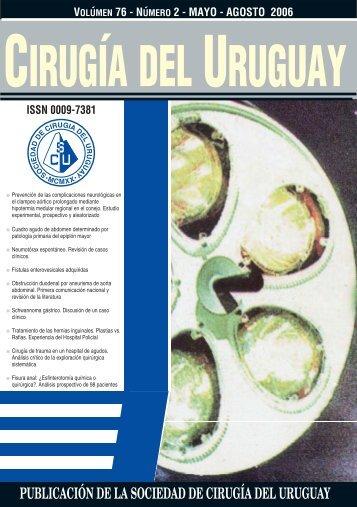 Descargar en PDF - Sociedad de Cirugía del Uruguay