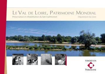 Brochure sur le Val de - Fondation du Patrimoine