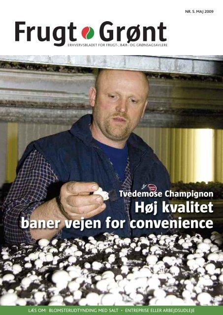 Høj kvalitet baner vejen for convenience - Gartneribladene