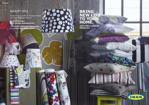 Inside the 2013 Catalog - Bring New Life into the Home with ...