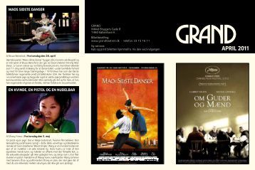 april 2011 - Grand Teatret