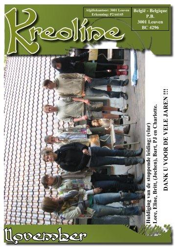 November - Scouts & Gidsen Halle