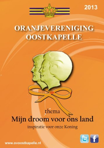 Download boekje 2013 - Oranjevereniging Oostkapelle