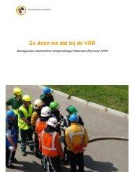 Gedragscode Integriteit VRR - Brandweer