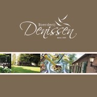 Bekijk hier onze documentatie - Boerderij Denissen