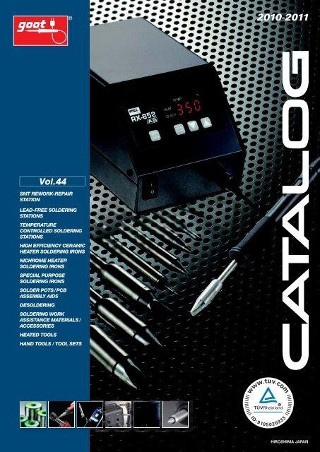 Goot ST-40 Soldering Iron Tip Cleaner Heat-Resistance TAIYO Electric Japan