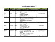 List of participants [PDF, 0,1 MB] - Global Climate Forum
