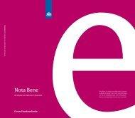 Nota Bene - Forum Standaardisatie