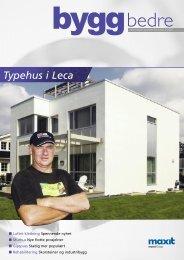Typehus i Leca - Weber
