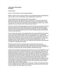 Verslag van een lezing van Koen Vanmechelen in het Paleis waarin ...