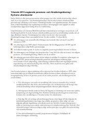 Yrkande 2013 angående pensions- och ... - Lärarförbundet