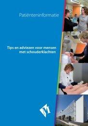 1465332 Tips en adviezen Schouderklachten hj ... - Martini ziekenhuis