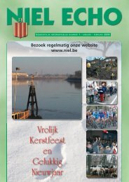 Gemeentelijk informatieblad Niel Echo - FotoNiel