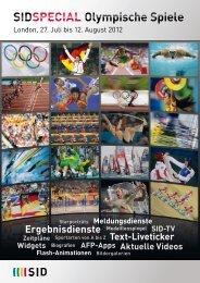 SIDSPECIAL Olympische Spiele - SID Sport-Informations-Dienst