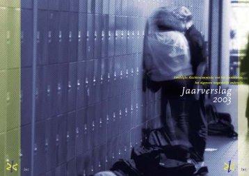 LKC jaarverslag 2003/corr - Onderwijsgeschillen
