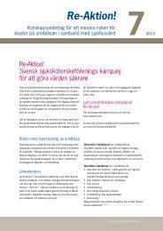 Re-Aktion! - Svensk sjuksköterskeförening