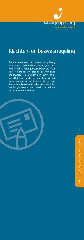 Klachten- en bezwaarregeling - Bureau Jeugdzorg Noord-Brabant