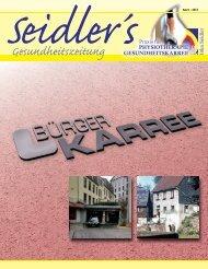 Unsere April-Zeitung 2013 zum herunterladen - Inka Seidler ...
