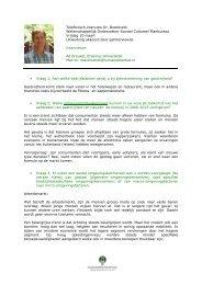 Vraag 2; Welke omgevingsontwikkelingen