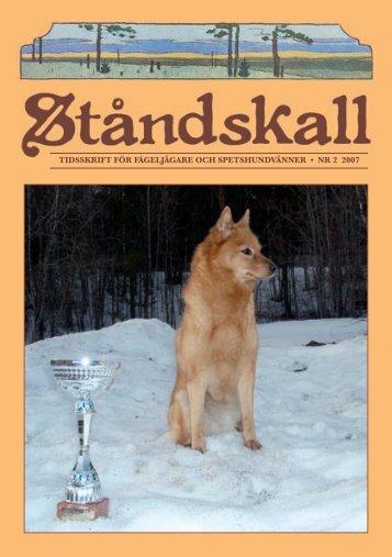 Jaktprov 2007 - Specialklubben för skällande fågelhundar