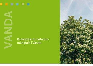 Bevarande av naturens mångfald i Vanda - Vantaan kaupunki