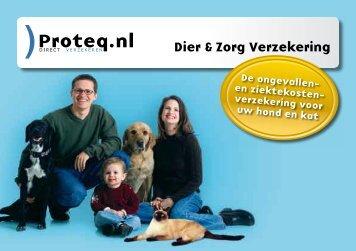 Dier & Zorg Verzekering - Depremievergelijker.nl