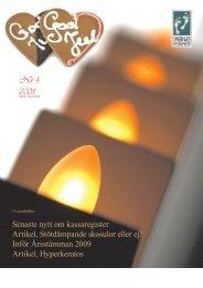 Nr. 4 2008 - Sveriges Fotterapeuter