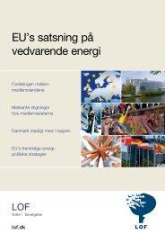 EU's satsning på vedvarende energi - EU - LOF