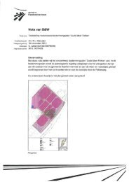 Nota van B&W - Kijk mee met de gemeenteraad van ...